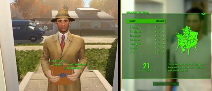 Настройка скиллов, навыков и умений в Fallout 4 вплетено в канву игры