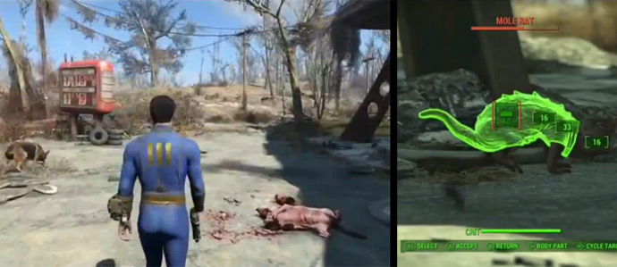 Нечисть и мутанты в Fallout 4