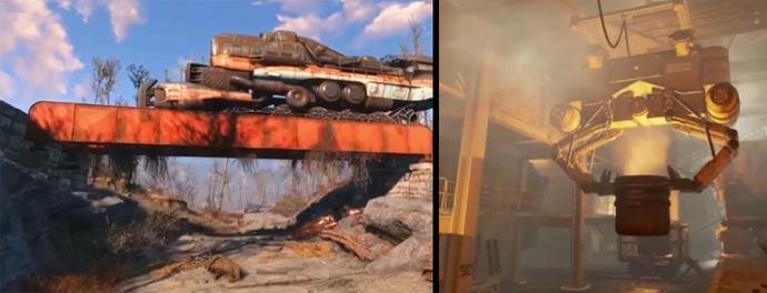Система крафта и строительства в Fallout 4