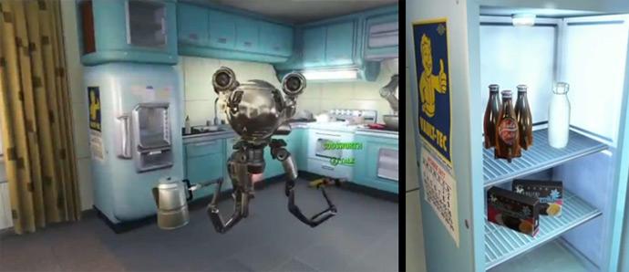 Робот-домохозяйка и ядер-кола в Fallout 4